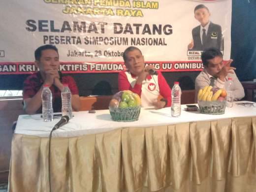 Peringati Sumpah Pemuda, GPI Jakarta Raya Gelar Simposium Nasional Terkait UU Omnibus Law
