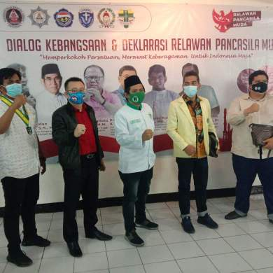 Gelar Dialog Kebangsaan Dan Pancasila, Relawan Pancasila Muda Dorong Keberagaman Untuk Indonesia Maju