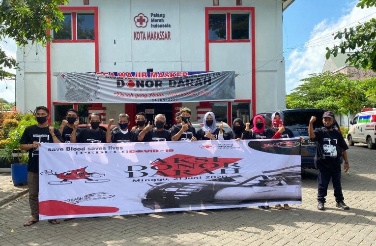Peringati Haul Bung Karno Dan Hari Lahir Jokowi, Relawan Gandeng PMI Gelar Donor Darah