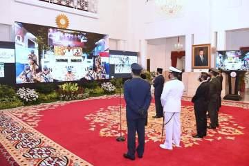 Presiden: Sinergi Adalah Kunci Membangun Kekuatan Pertahanan yang Kokoh Dan Efektif