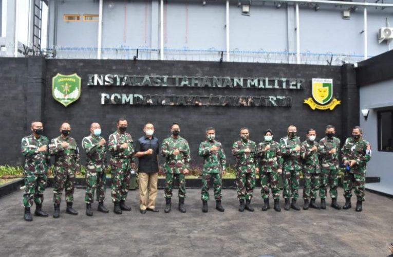 Diresmikan Kasad Andika Perkasa, Rutan Militer Pomdam Jaya Berbasis Teknologi Artificial Intelligence