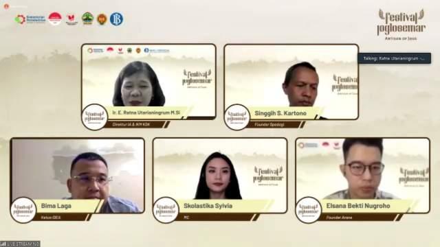 Dukung Produk Buatan Indonesia, Kemenperin Kampanyekan Festival JogloSemar