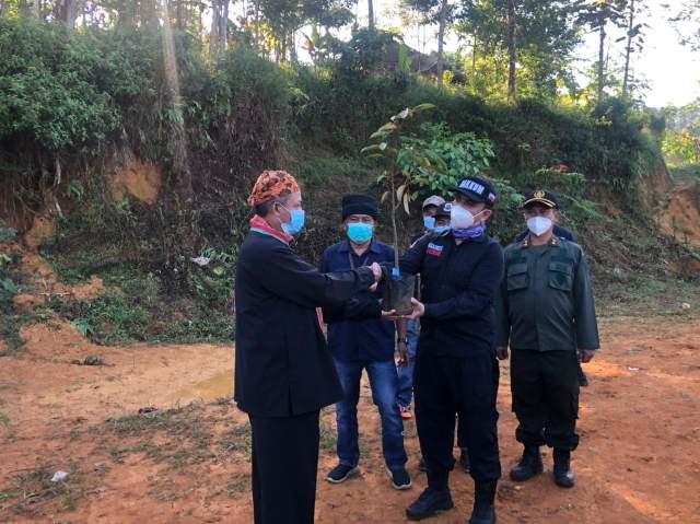 KLHK Hentikan Tambang Emas Ilegal di Hutan Adat Kasepuhan Cibarani