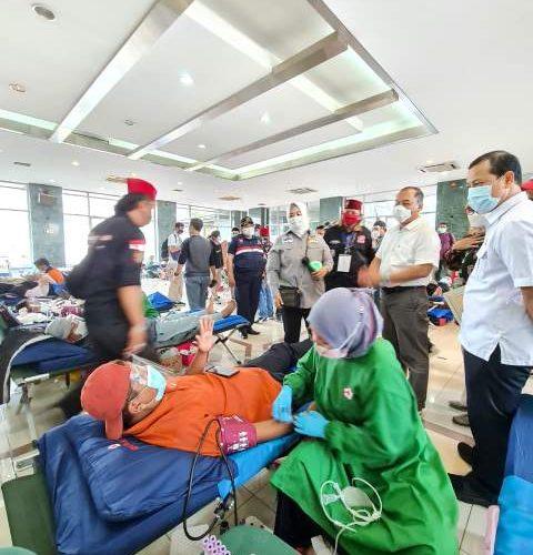 Fahira Idris Launching Kegiatan Donor Darah Secara Maraton Di 44 Kecamatan Se DKI Jakarta