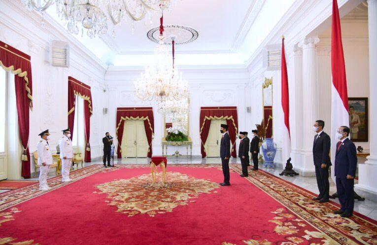 Presiden Resmi Lantik Gubernur dan Wakil Gubernur Kalimantan Tengah Masa Jabatan 2021-2024