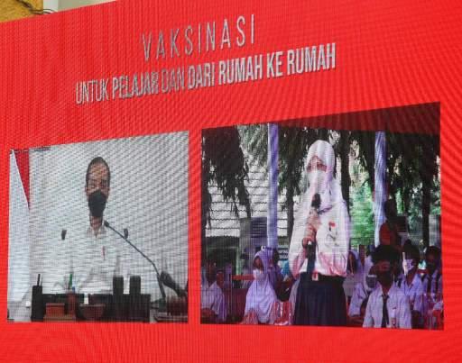 Presiden Jokowi Dorong Vaksinasi untuk Para Pelajar Guna Capai Kekebalan Komunal