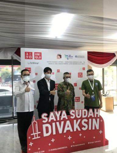 Percepat Pemulihan Negeri, HIPPINDO & UNIQLO Buka Sentra Vaksinasi Di Surabaya