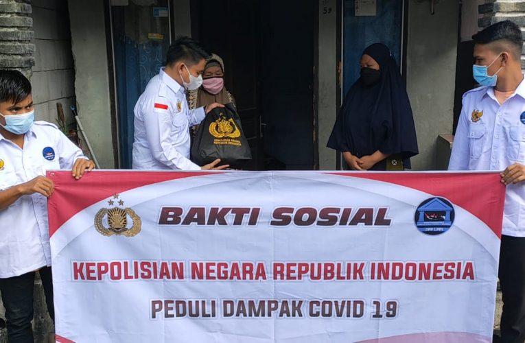 DPP LPPI Bersama Polri Beri Paket Sembako Dan Sosialisasi Vaksinasi Pada Masyarakat