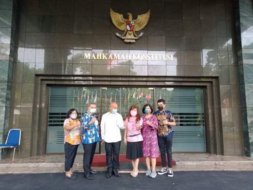 Gugat UU Nomor 2 Tahun 2021, Tim Hukum Dan Advokasi Majelis Rakyat Papua Hari ini Datangi Mahkamah Konstitusi
